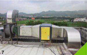 نمونه ای از دستگاه تصفیه دود و هوا