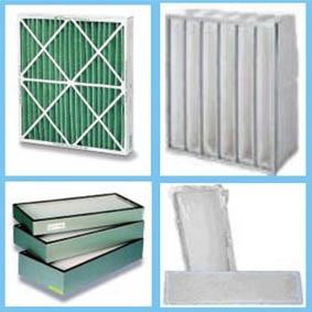 نمونه هایی از فیلترهای هواساز