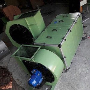 نمونه ای از یک دستگاه تصفیه هوا و دود