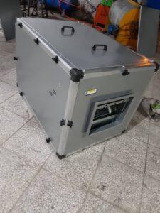 نمونه ای از یک دستگاه باکس فن